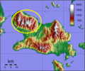 Distribution Dactylopsila tatei on Fergusson Island.png