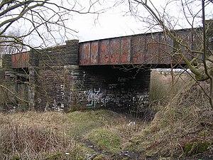 Millerston - Image: Disused Railway Bridge, Bogside Road geograph.org.uk 128088