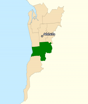 Division of BOOTHBY 2016