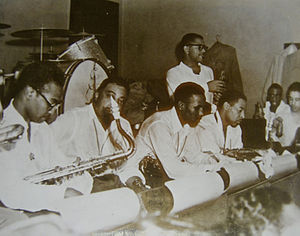 Jewell Building - Dizzy Gillespie and his band at the Dreamland Ballroom in 1948