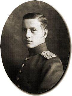 Grand Duke Dmitri Pavlovich of Russia Russian Imperial Highness