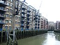 Dockland warehouse apartments near Tower Bridge, London - geograph.org.uk - 2145995.jpg