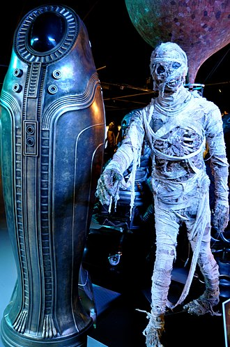Mummy on the Orient Express - The Foretold, as shown at the Doctor Who Experience.