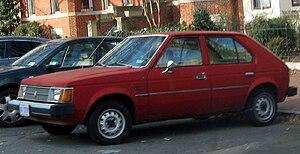 Dodge Omni photographed in Washington, D.C., U...