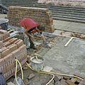 Dok tijdens restauratie werkzaamheden - Hellevoetsluis - 20372141 - RCE.jpg