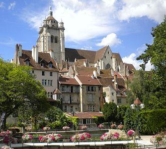 Jura (department) - Image: Dole quartier des tanneurs