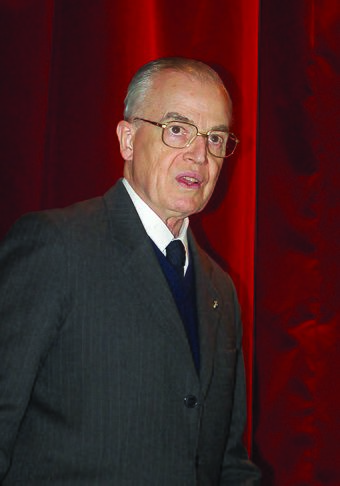 Prince Bertrand of Orleans-Braganza, Prince Imperial of Brazil and speaker on behalf of his brother Prince Luiz of Orleans-Braganza, Head of the Brazilian Imperial Family since 1981. Dom Bertrand de Orleans e Braganca.jpg