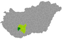 dombóvár térkép Dombóvári járás – Wikipédia