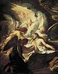 De dood van de heilige Maria Magdalena