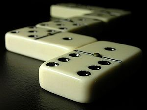 A game of Dominoes