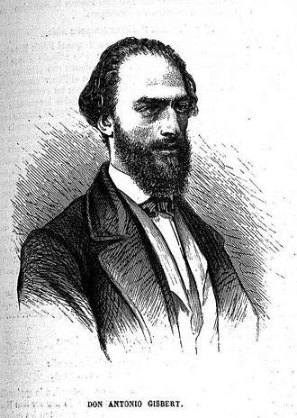 Antonio Gisbert - Antonio Gisbert; from El Museo Universal (1880)