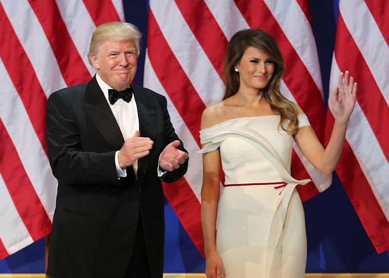 File:Donald and Melania Trump at Armed Services Ball 01-20-17.jpg