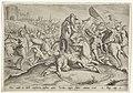 Dood van Uria Geschiedenis van David en Batseba (serietitel) Thesaurus sacrarum historiarum veteris testamenti (..) (serietitel), RP-P-1988-301.jpg