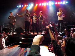 Doomtree Cecil Otter, P.O.S., Mike Mictlan, Dessa, and Sims.jpg