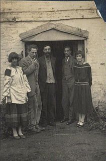 Ralph Partridge Associated with Bloomsbury Group (1894-1960)