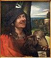 Dosso dossi, ritratto di buffone di corte, 1508-10 ca. 02.jpg