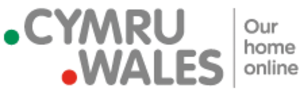 .cymru - Image: Dot CYMRU Dot WALES logo