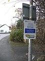 Double-sided sign, Main Street, Burton Slmon - geograph.org.uk - 1620492.jpg
