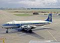 Douglas DC-6B SX-DAI Olympic LHR 17.08.63 edited-2.jpg