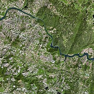 Douro - A SPOT Satellite image of the Douro River