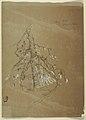 Drawing, A Gnarled Evergreen, Grand Manan, Canada, August 1851 (CH 18195109).jpg