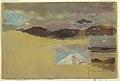 Drawing, Studies of Mount Chimborazo, Ecuador, 1857 (CH 18202091-2).jpg
