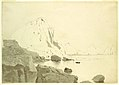 Drawing, View of Capri, Italy, Showing the Southern Coast and The Faraglione, ca. 1865 (CH 18395003).jpg