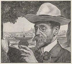 Drawing of Jan Stuyt by Huib Luns (ca. 1906).jpg
