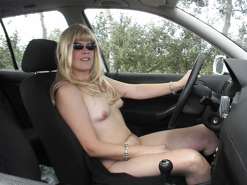 For that naked woman driving car possible speak
