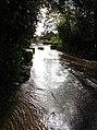Driving through the flood - geograph.org.uk - 257188.jpg