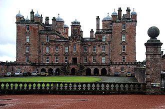 Drumlanrig Castle - Drumlanrig Castle entrance front