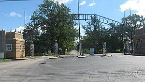 Du Quoin State Fairgrounds - Entrance to the fairgrounds