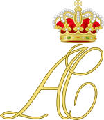 Dual Cypher of Prince Albert and Princess Charlene of Monaco.svg