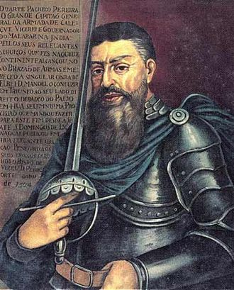 Battle of Cochin (1504) - Duarte Pacheco Pereira, first commander of Fort Manuel of Cochin