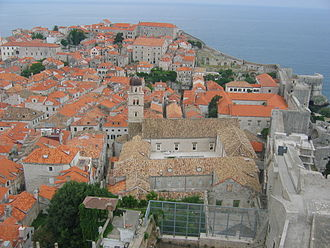 World of A Song of Ice and Fire - Image: Dubrovnik from walls