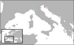 Ducato di Lucca - Mappa