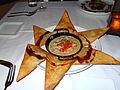 Duck Nachos @ Seviche, Louisville, KY - Cumin-lime aioli, country ham duck demi glace, crispy tortilla (2013-05-18 by Navin75).jpg