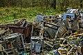 Duga radar system- wreckage of electronic devices (24731024978).jpg