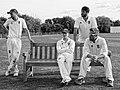 Dunmow Cricket Club 1st XI, Essex, England (1) Ilford FP4 Plus 125.jpg