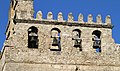 Duomo di Monreale, particolare della torre camoanaria. - panoramio.jpg