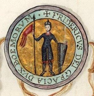Frederick, Duke of Bohemia - Seal of Duke Frederick