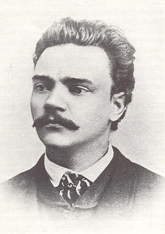 Antonin Dvorak in 1868, age 26 or 27. Dvorak 1868.jpg