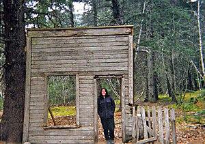 Dyea, Alaska - Image: Dyea