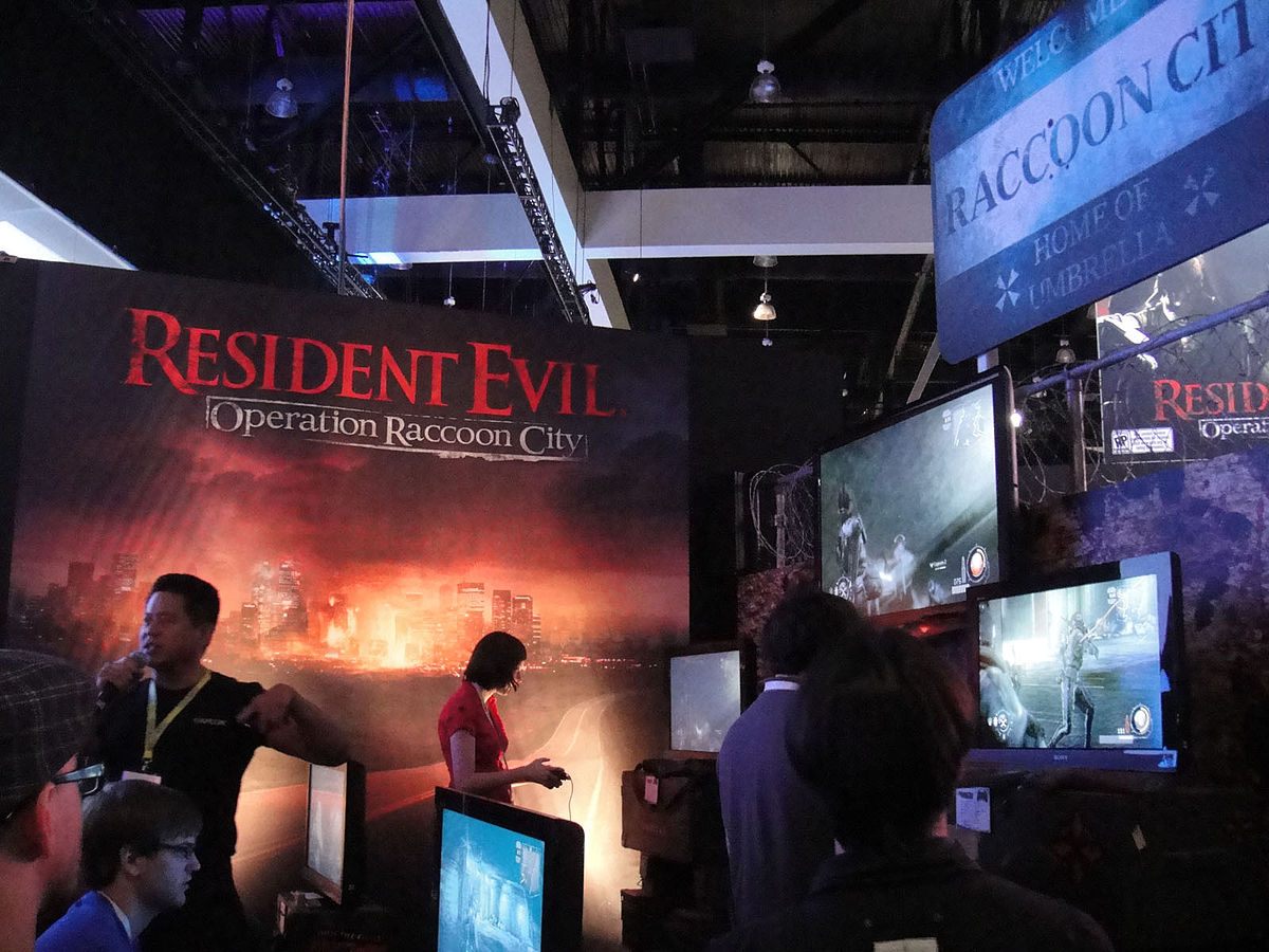 File E3 2011 Resident Evil Operation Raccoon City Jpg Wikimedia