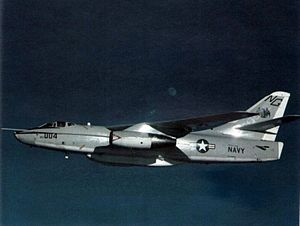 EA-3B Skywarrior VQ-1 in flight 1985.jpg