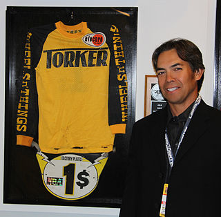 Eddy King American bicycle motocross rider