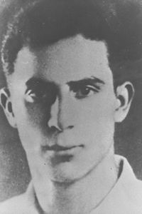 """ELIAHU HAKIM, """"LEHI"""" UNDERGROUND FIGHTER EXECUTED BY THE EGYPTIANS IN CAIRO.D193-070.jpg"""