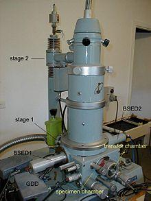 Environmental scanning electron microscope - Wikipedia