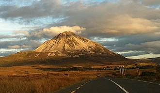 Mount Errigal - A view of Errigal from Gweedore.