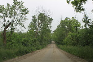 Ann Arbor Charter Township, Michigan - Image: Earhart Road Ann Arbor Twp